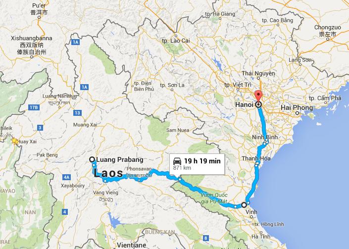 LPB Hanoi Route