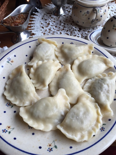 Pierogi - filled dumplings