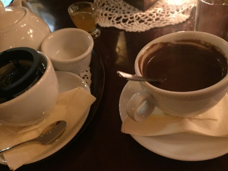 Traditional Hot Chocolate - really thick and a bit much