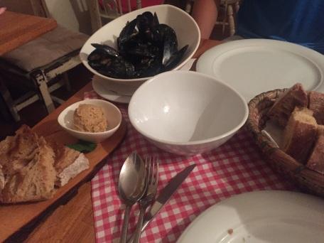 Fish Pate & Mussels