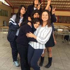 Kimberly teaching English in Chile!